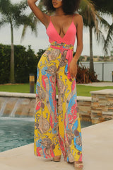 Modishshe Straped Printed Jumpsuits