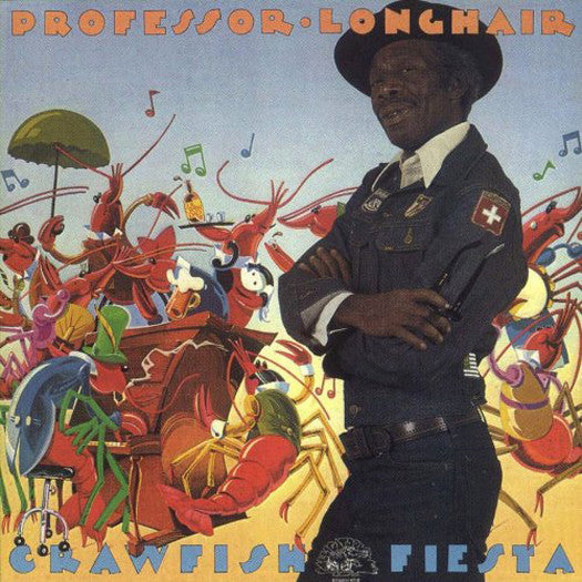 PROFESSOR LONGHAIR CRAWFISH FIESTA LP VINYL NEW (US) 33RPM