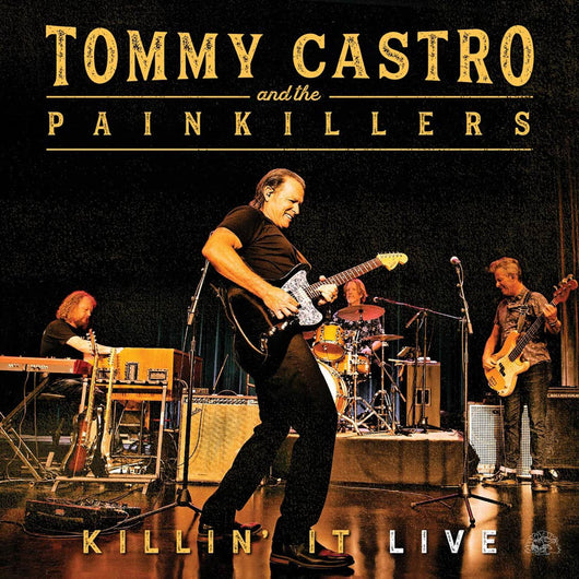 Tommy Castro & The Painkillers Killin It Live Vinyl LP New 2019