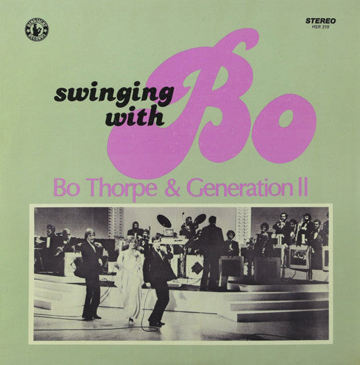 BO & GENERATION II THORPE SWINGING WITH BO 2 LP VINYL NEW (US) 33RPM
