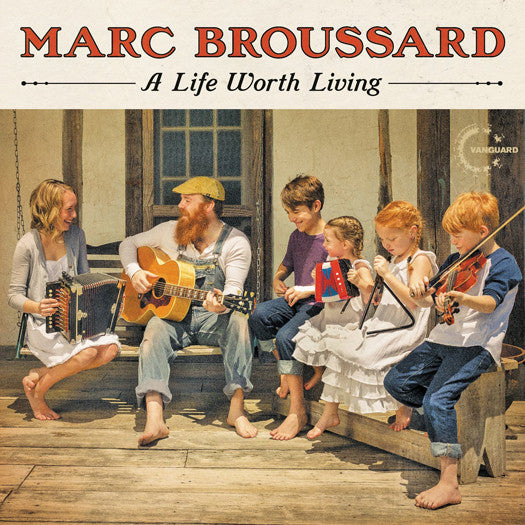 MARC BROUSSARD LIFE WORTH LIVING LP VINYL NEW (US) 33RPM