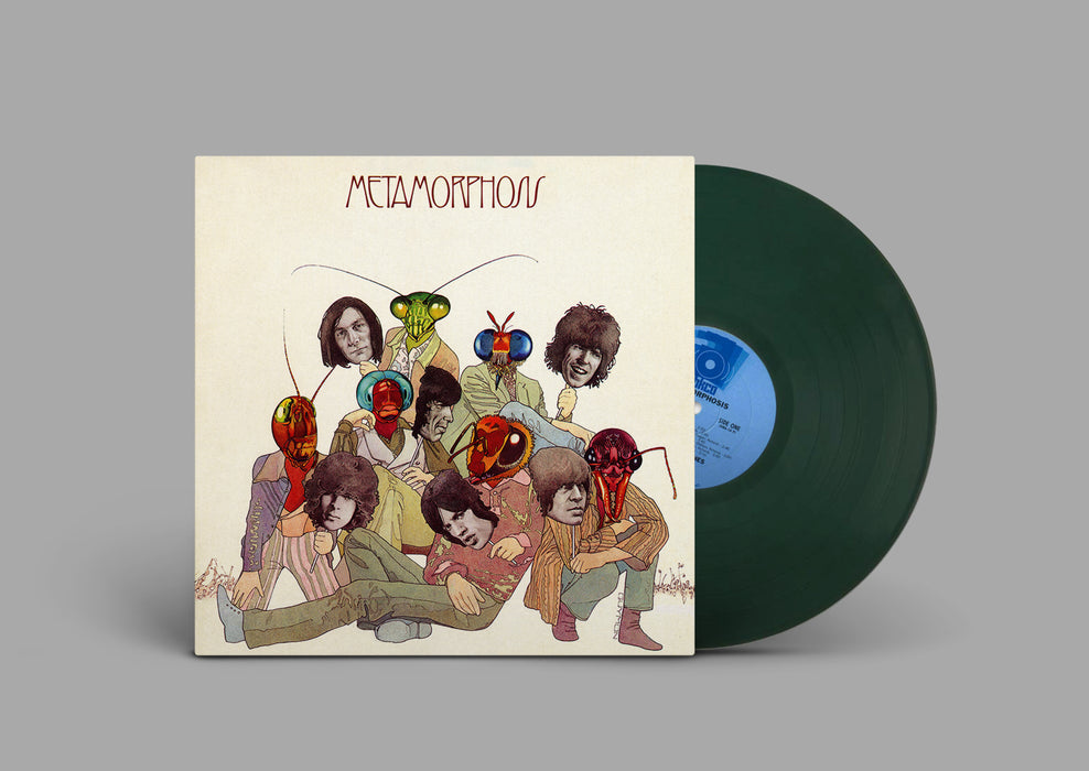 The Rolling Stones - Metamorphosis Vinyl LP Green Colour RSD Oct 2020