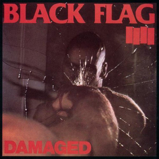 BLACK FLAG DAMAGED LP VINYL NEW (US) 33RPM
