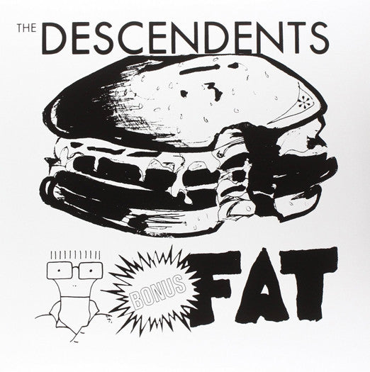 DESCENDENTS BONUS FAT LP VINYL NEW (US) 33RPM