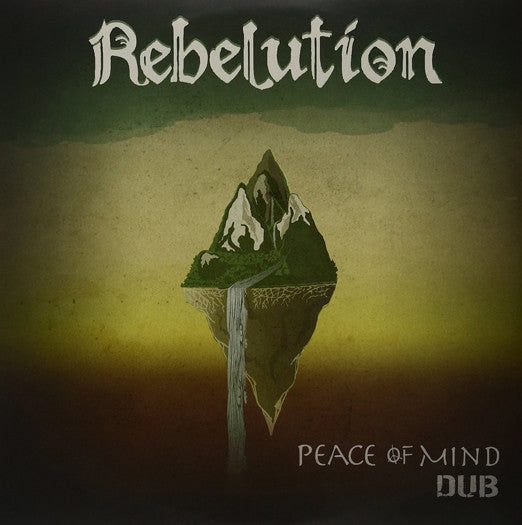 REBELUTION PEACE OF MIND LP VINYL NEW (US) 33RPM