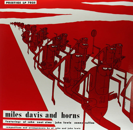 MILES DAVIS MILES DAVIS & HORNS LP VINYL NEW (US) 33RPM