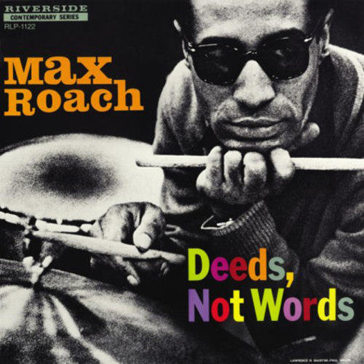 MAX ROACH DEEDS NOT WORDS LP VINYL NEW (US) 33RPM