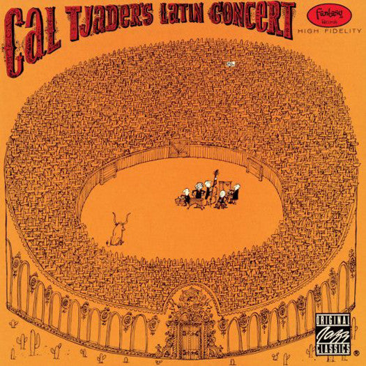 CAL TJADER LATIN CONCERT LP VINYL NEW (US) 33RPM