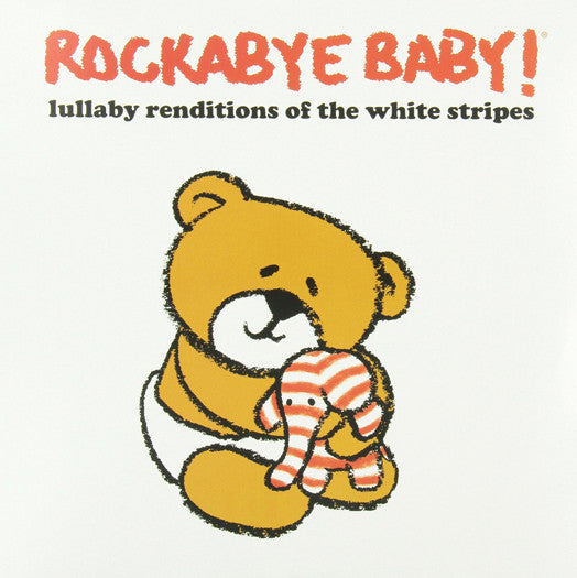 ROCKABYE BABY LULLABY RENDITIONS OF WHITE STRIPES LP VINYL NEW (US) 33RPM