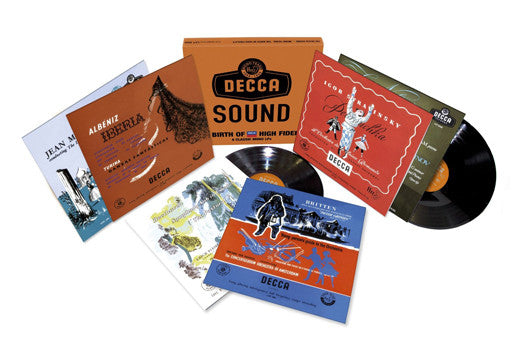 DECCA SOUND Mono Sound 1944-56 LP Vinyl Set NEW 33RPM