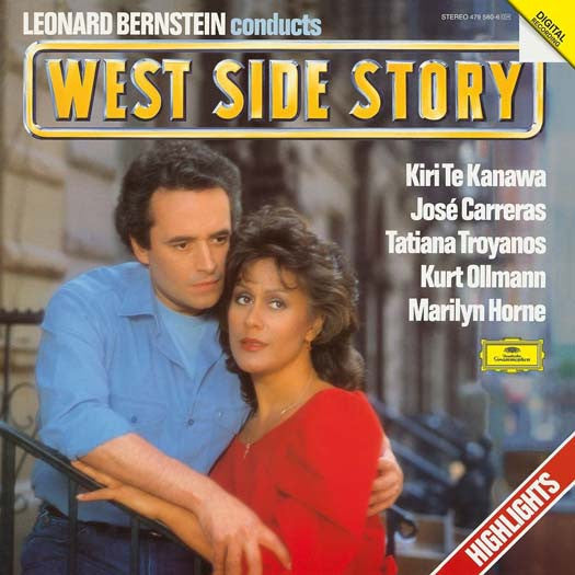 WEST SIDE STORY Highlights BERNSTEIN LP Vinyl NEW 33RPM