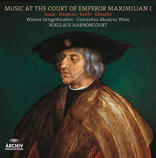 MUSIC at EMPEROR MAXIMILIAN I Harnoncourt LP Vinyl NEW 2017