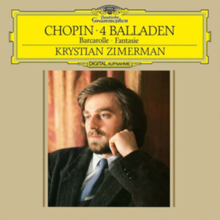 Krystian Zimerman CHOPIN 4 BALLADS LP Vinyl 180gm NEW 2017