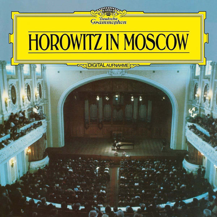 VLADMIR HOROWITZ Horowitz in Moscow LP Vinyl NEW 2018