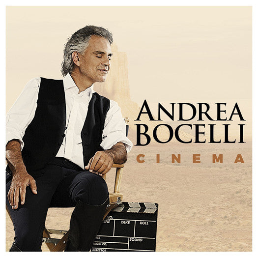 ANDREA BOCELLI CINEMA DOUBLE LP VINYL NEW 33RPM