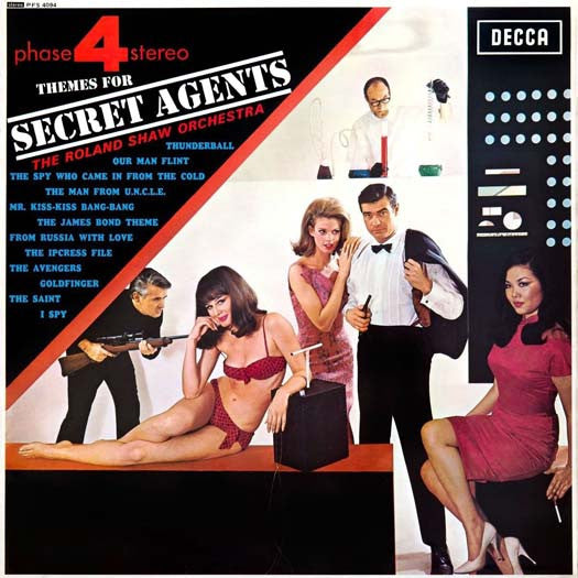 Phase4 R SHAW THEMES FOR SECRET AGENTS LP Vinyl NEW 2017