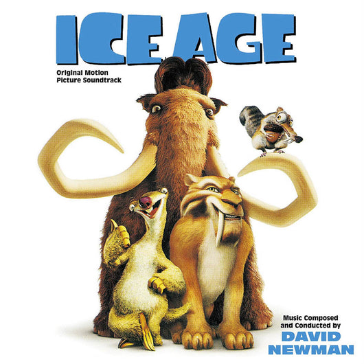David Newman Ice Age Score Pic Disc Vinyl LP New 2018