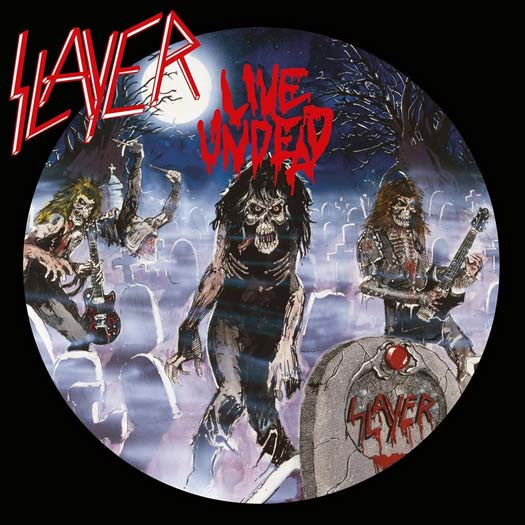 SLAYER LIVE UNDEAD LP VINYL NEW (US) 33RPM