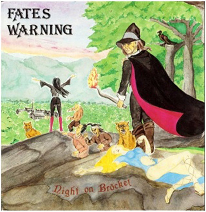 FATES WARNING NIGHT ON BEN RE LP VINYL 33RPM NEW