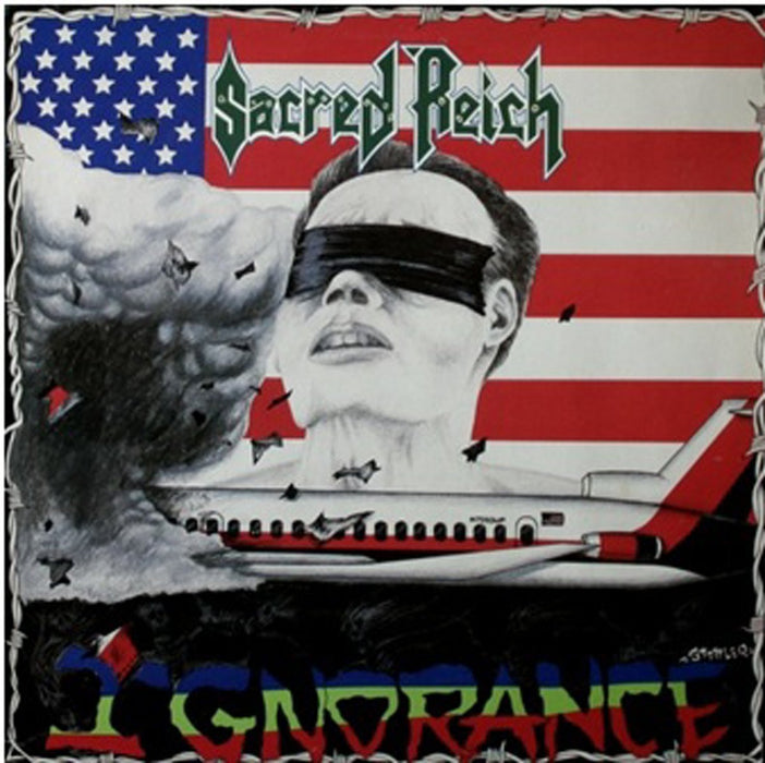 SACRED REICH IGNORANCE LP VINYL 33RPM NEW