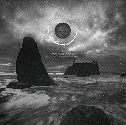 DOWNFALL OF GAIA AEON UNVEILS THE THRONES OF DECAY LP VINYL 33RPM NEW
