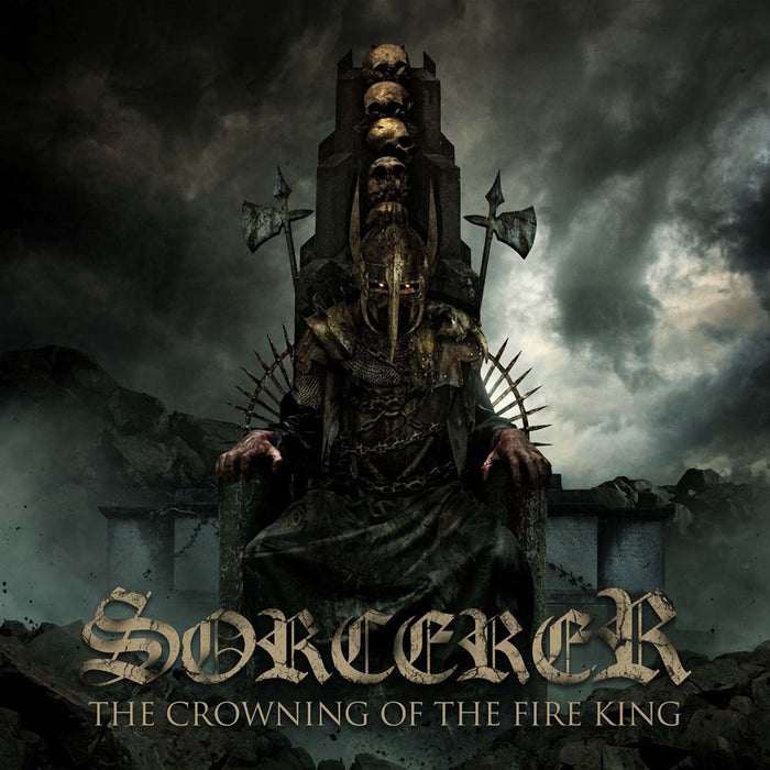 SORCERER The Crowning of the Fire King 2LP Vinyl NEW 2017