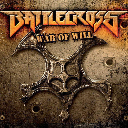 BATTLECROSS WAR OF WILL LP VINYL NEW (US) 33RPM PIC DISC