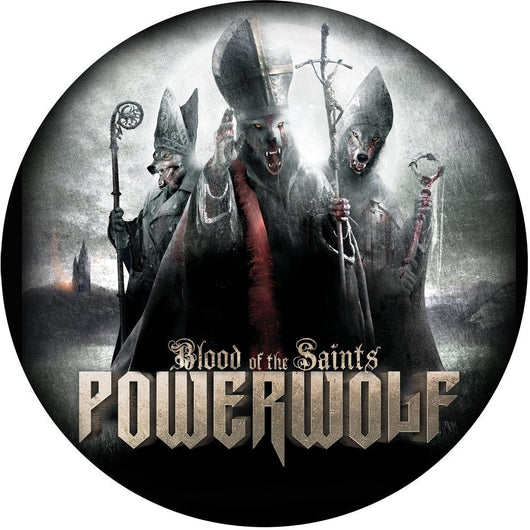 POWERWOLF BLOOD OF THE SAINTS LP VINYL 33RPM NEW 2012