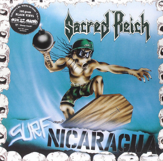 SACRED REICH SURF NICARAGUA ALIVE AT THE DYNAMO LP VINYL  NEW