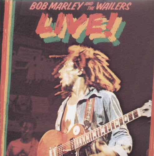BOB MARLEY AND THE WAILERS LIVE LP VINYL 33RPM NEW