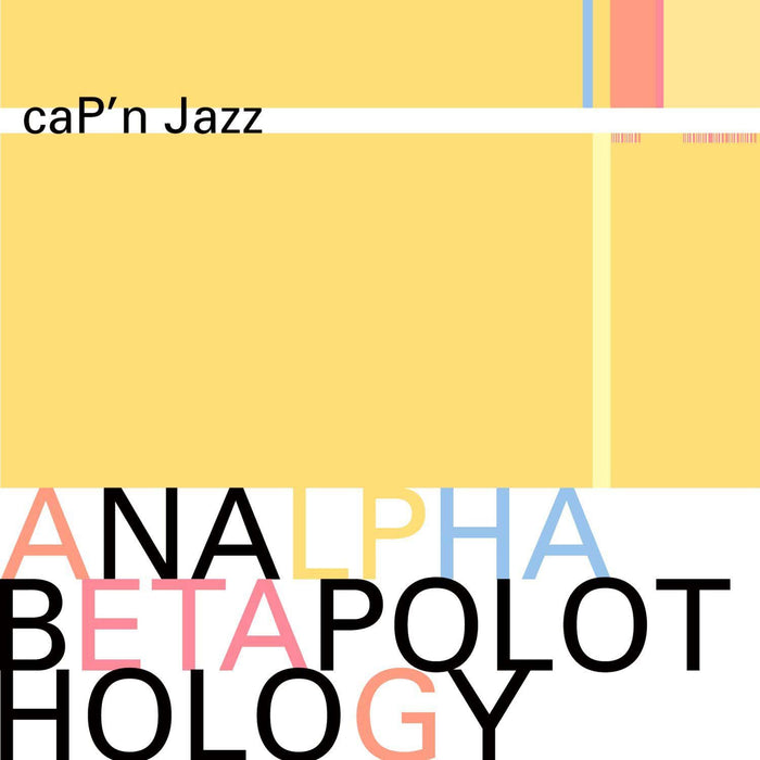 CAP'N JAZZ Analphabetapolothology LP Vinyl NEW 2017