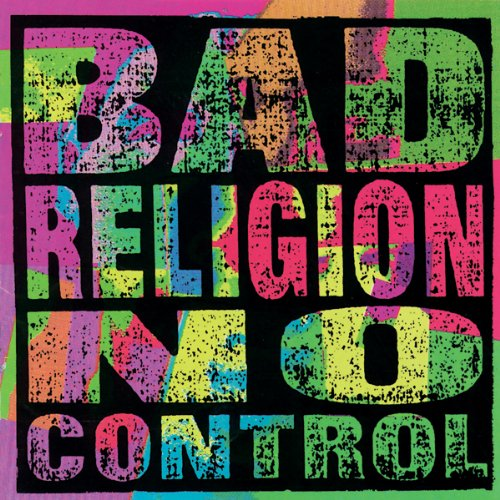 BAD RELIGION NO CONTROL COLOURED LP VINYL 33RPM NEW