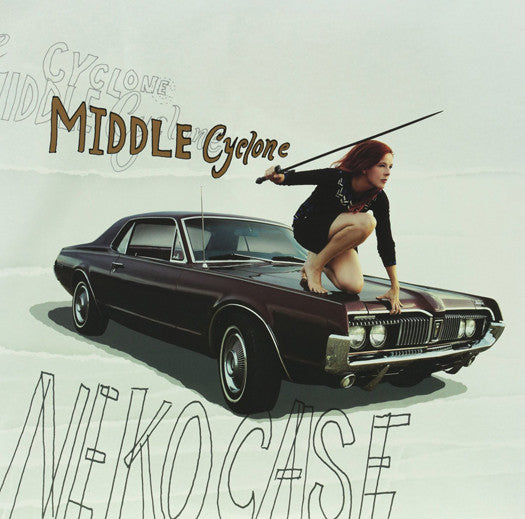 NEKO CASE MIDDLE CYCLONE LP VINYL NEW (US) 33RPM