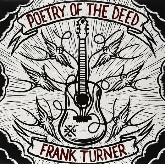 FRANK TURNER POETRY OF THE DEED LP VINYL AND DOWNLOAD NEW (US) 33RPM