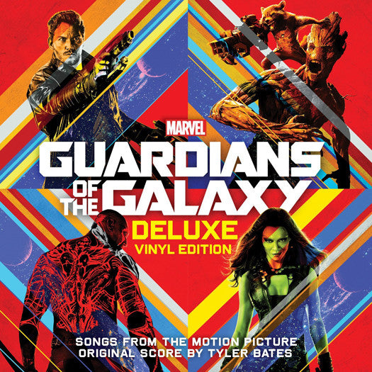 GUARDIANS OF THE GALAXY Soundtrack DOUBLE LP VINYL NEW Deluxe Edition