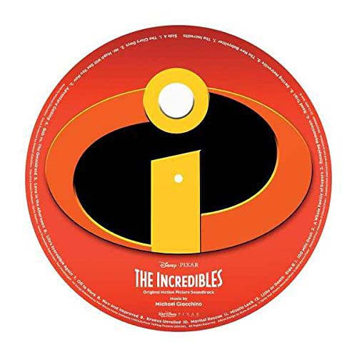 "MICHAEL GIACCHINO The Incredibles 12"" Pic Disc Vinyl NEW 2018"