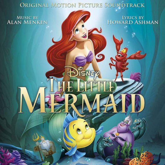 The Little Mermaid Vinyl LP Soundtrack New 2018