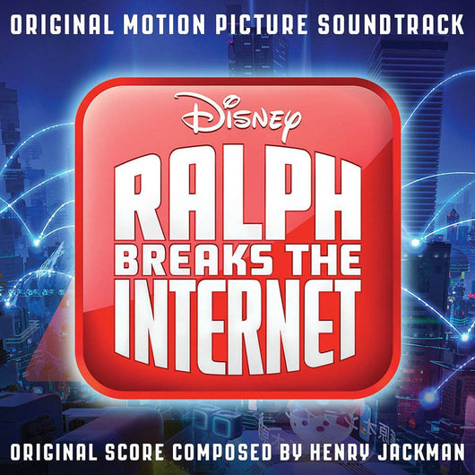 Henry Jackman Ralph Breaks the Internet CD New 2018