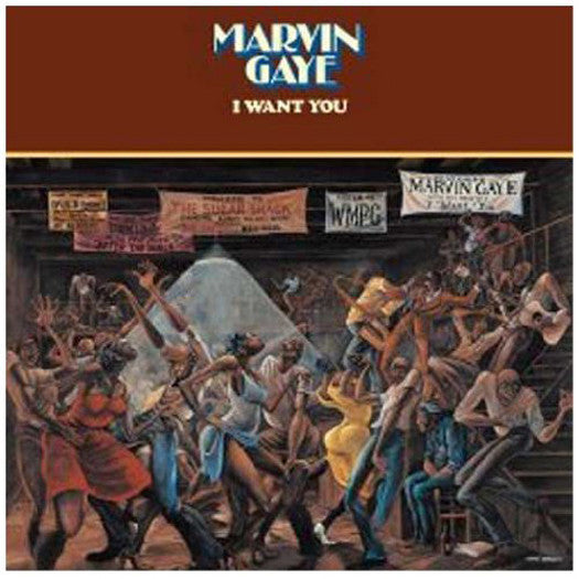 MARVIN GAYE I WANT YOU REISSUE LP VINYL NEW (US) 33RPM