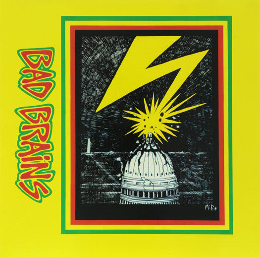 BAD BRAINS BAD BRAINS LP VINYL NEW (US) 33RPM LIMITED EDITION