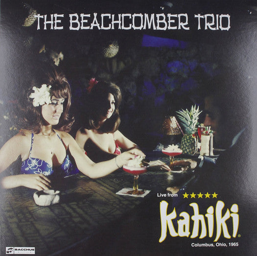 BEACHCOMBER TRIO LIVE AT KAHIKI 1965 LP VINYL NEW (US) 33RPM