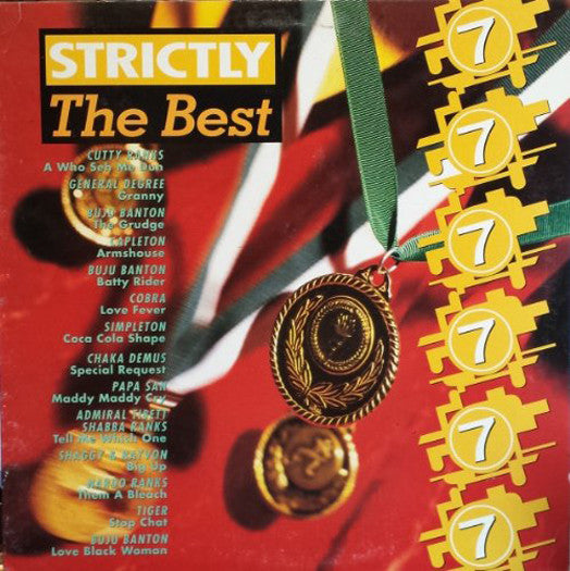 STRICTLY THE BEST VOL 07 LP VINYL NEW 33RPM