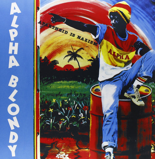 ALPHA BLONDY APARTHEID IS NAZISM LP VINYL 33RPM NEW