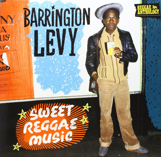 BARRINGTON LEVY SWEET REGGAE ANTHOLOGY LP VINYL NEW 33RPM