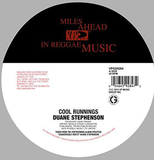 DUANE STEPHENSON COOL RUNNINGS 12