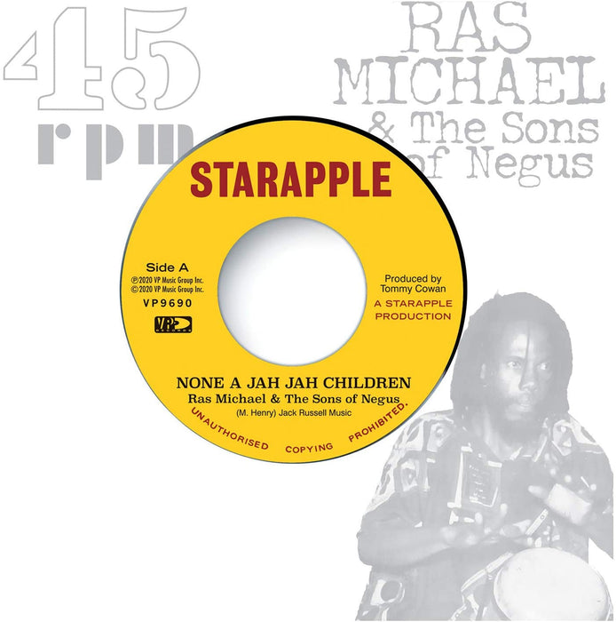 "Ras Michael ... - None A Jah Jah Children 12"" Vinyl Single 2020"
