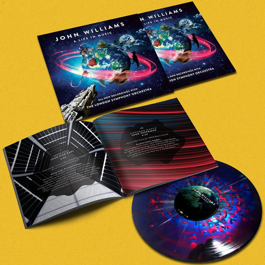 John Williams A Life in Music Cosmic Coloured Vinyl LP New 2018