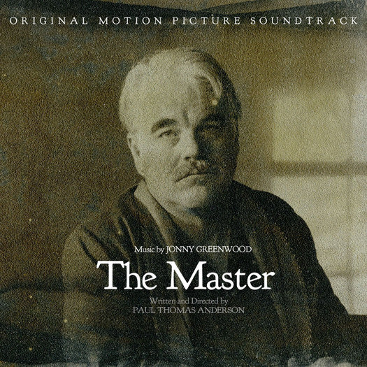 JONNY GREENWOOD MASTER MOTION PICTURE SOUNDTRACK LP VINYL NEW (US) 33RPM