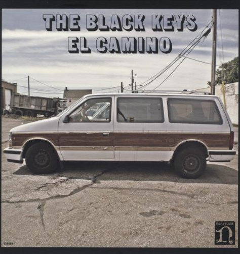 BLACK KEYS EL CAMINO BLUES LP VINYL AND CD NEW 33RPM