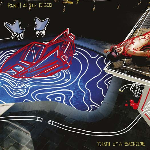 PANIC! AT THE DISCO DEATH OF A BACHELOR LP VINYL NEW 33RPM